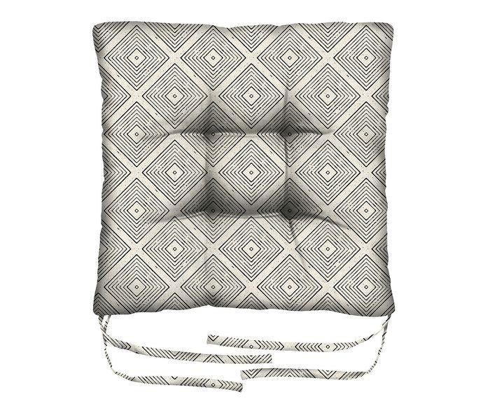 Assento de Cadeira em Linho Misto Ursa Minor - 45X45cm | Westwing.com.br