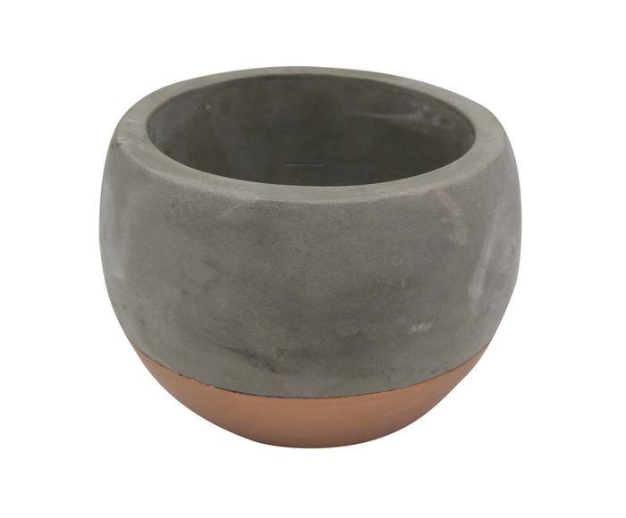 Cachepot Ozanan Beau Acobreado - 13,5cm | Westwing.com.br