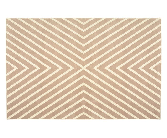 Tapete Trendy Chefron Natural - 250X300cm | Westwing.com.br