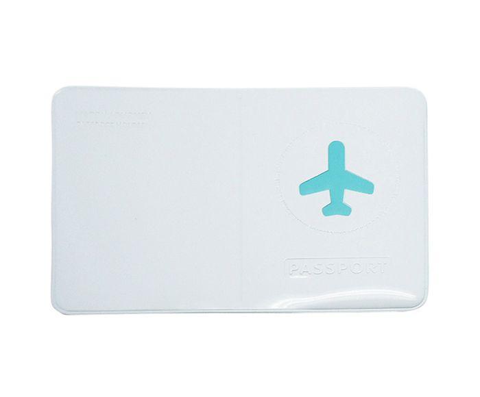 Porta-Passaporte Plane Azul - 14X10cm | Westwing.com.br