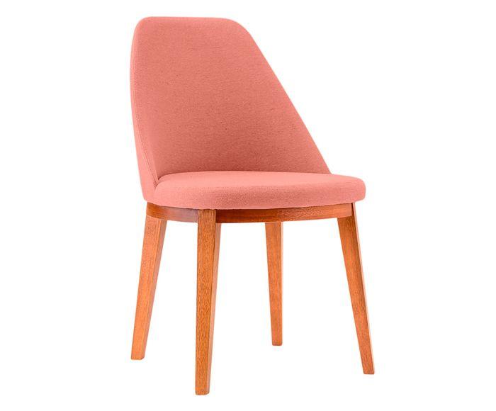 Cadeira em Linho Lisa Salmão - 55X86X53cm | Westwing.com.br