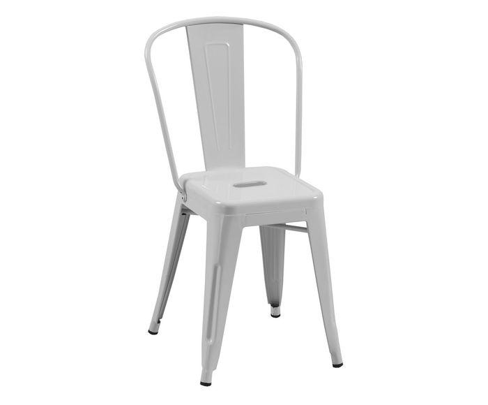 Cadeira de Jantar Retrô Branca - 35,5X86X36cm | Westwing.com.br