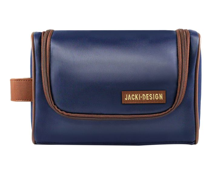 Nécessaire For Men Azul e Marrom - 23X16X12cm   Westwing.com.br