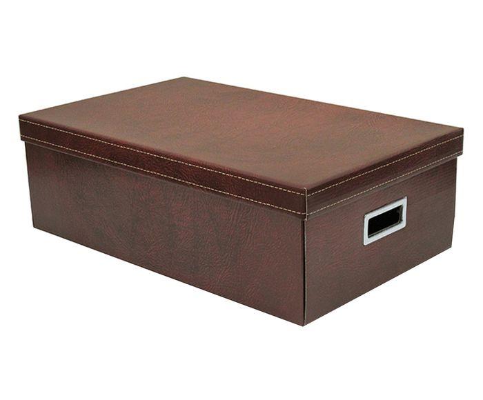 Caixa Organizadora Carmi Marrom - 50X31cm | Westwing.com.br