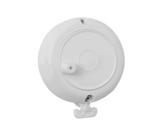 Varal Retrátil Carretilha Branco - 8X9,5X3,5cm   Westwing.com.br
