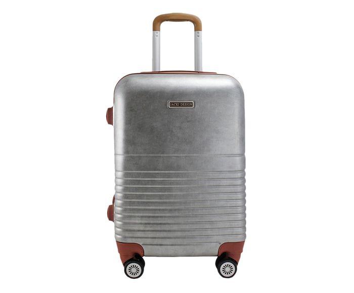 Mala de Viagem Vintage Cinza - 33X46X21cm | Westwing.com.br