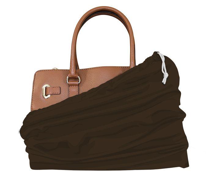 Saco para Bolsa Leli Marrom - 34X10cm | Westwing.com.br