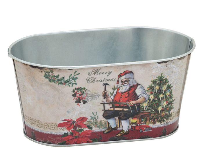 Cachepot Merry Christmas I - 20X11cm | Westwing.com.br
