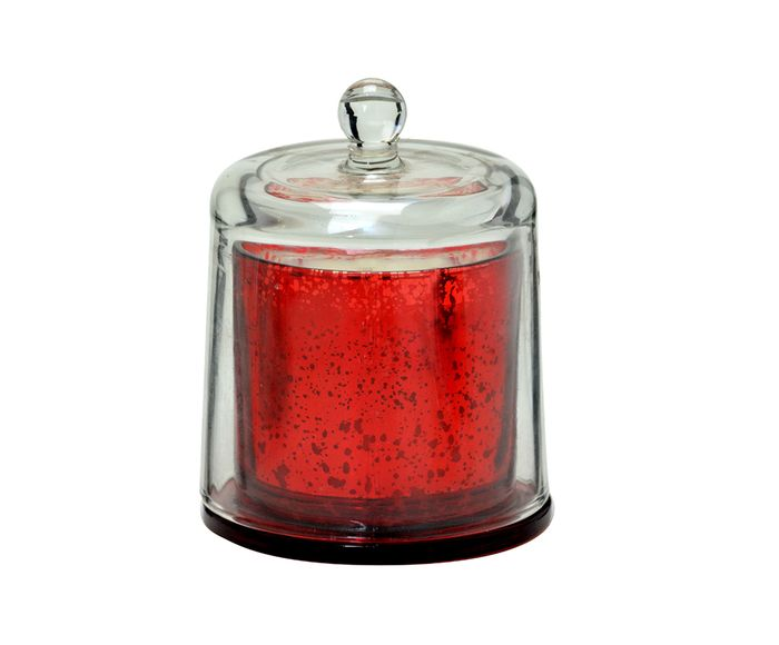 Vela Decorativa Muge Vermelha - 10,5X14cm   Westwing.com.br