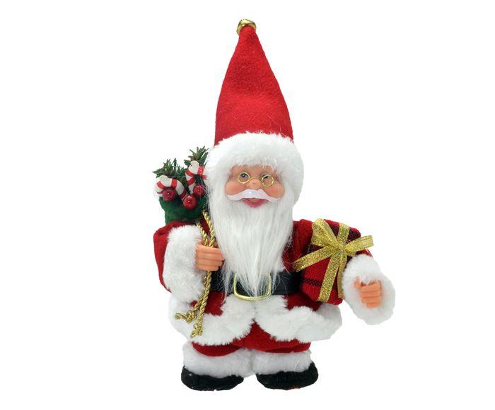 Enfeite Papai Noel Musical - 15,5X21X9cm | Westwing.com.br