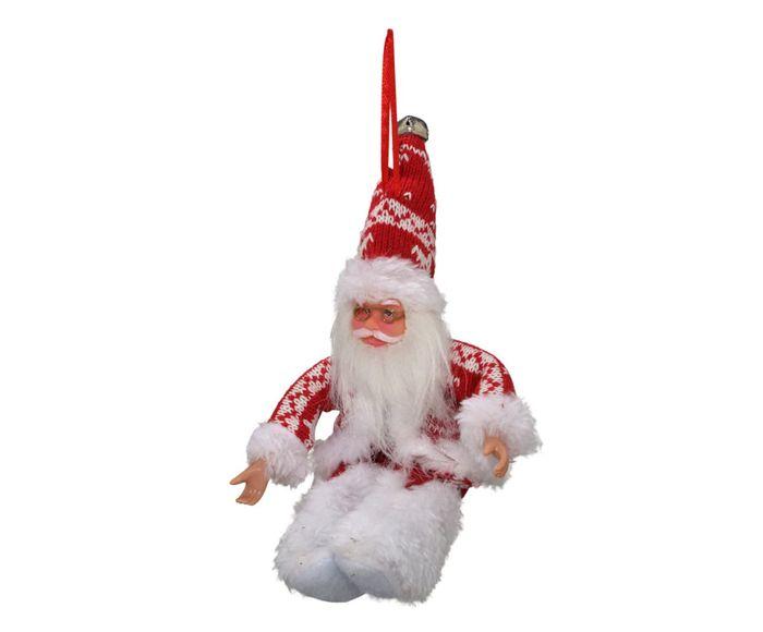 Enfeite Papai Noel Vermelho e Branco - 8X12,5X12cm   Westwing.com.br