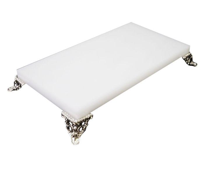 Bandeja Royal Branca - 19X3X9,5cm   Westwing.com.br