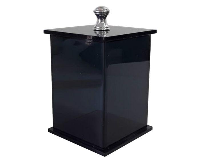 Pote Decorativo Essence Fumê - 7X7cm | Westwing.com.br