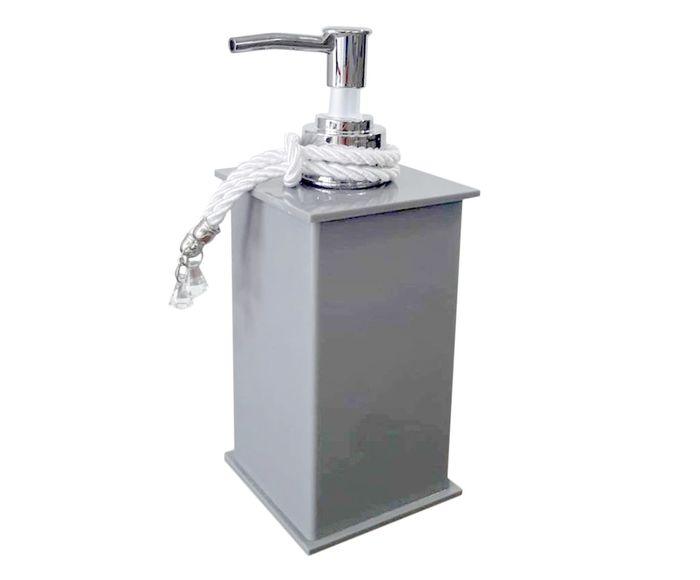Dispenser para Sabonete Líquido Essence Cinza - 200ml | Westwing.com.br