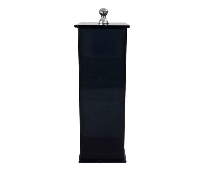 Porta-Escovas Essence Fumê - 7X7cm | Westwing.com.br