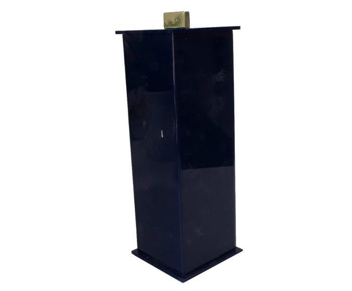 Porta-Escovas Elegance Azul Gold - 7X7cm | Westwing.com.br