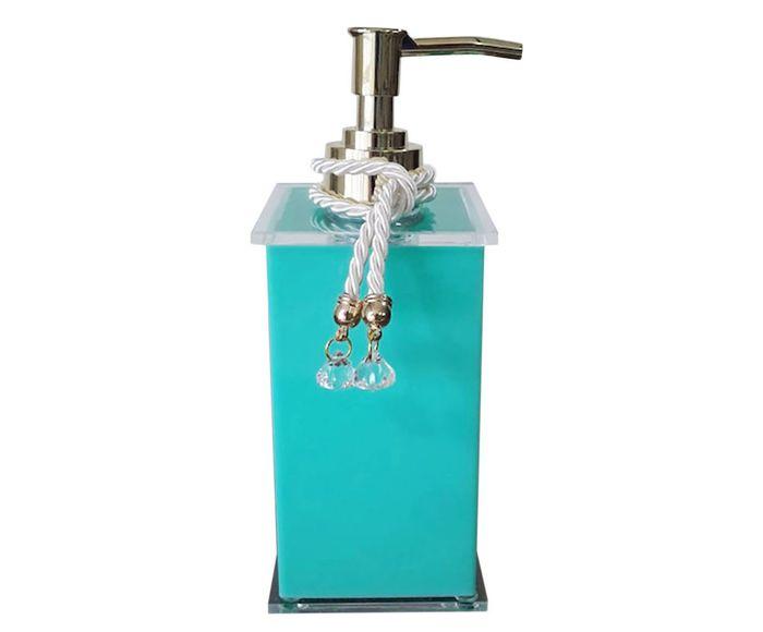 Dispenser para Sabonete Líquido Elegance Charm Tifany - 7X7cm | Westwing.com.br
