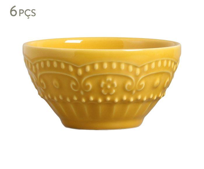 Jogo de Bowls Esparta Mostarda - 430ml | Westwing.com.br