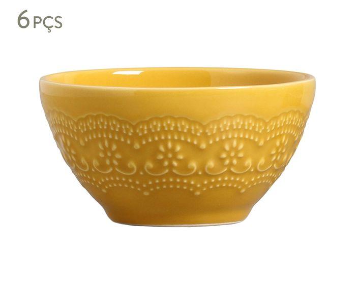 Jogo de Bowls Madeleine Mostarda - 450ml | Westwing.com.br