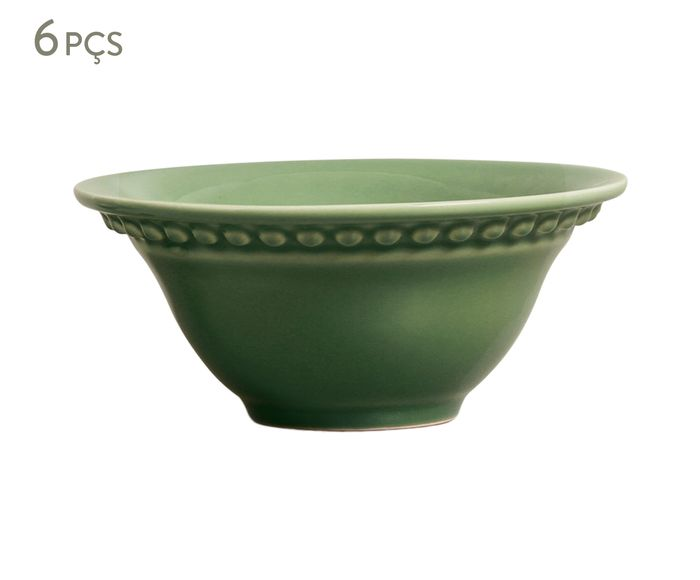 Jogo de Bowls Atenas Verde Sálvia - 445ml | Westwing.com.br