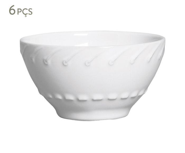Jogo de Bowls Cordonê - Branco | Westwing.com.br