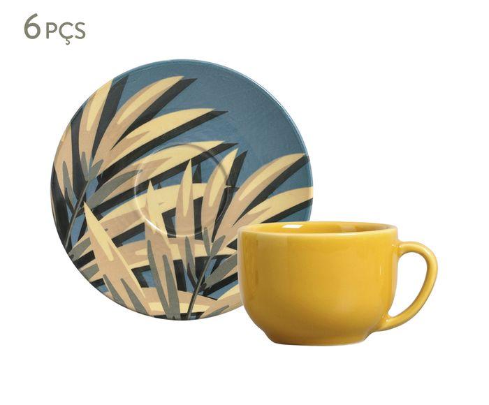 Jogo de Xícaras para Chá com Pires Coup Sumatra - 260ml | Westwing.com.br