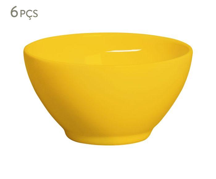Jogo de Bowls Mônaco Mostarda - 385ml   Westwing.com.br