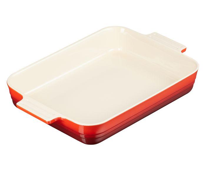 Travessa Classic Vermelho - 32X5,7X24,8cm   Westwing.com.br