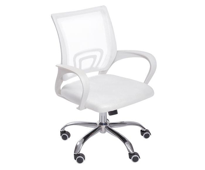 Cadeira com Rodízios Tok Branca - 46X92X49cm | Westwing.com.br