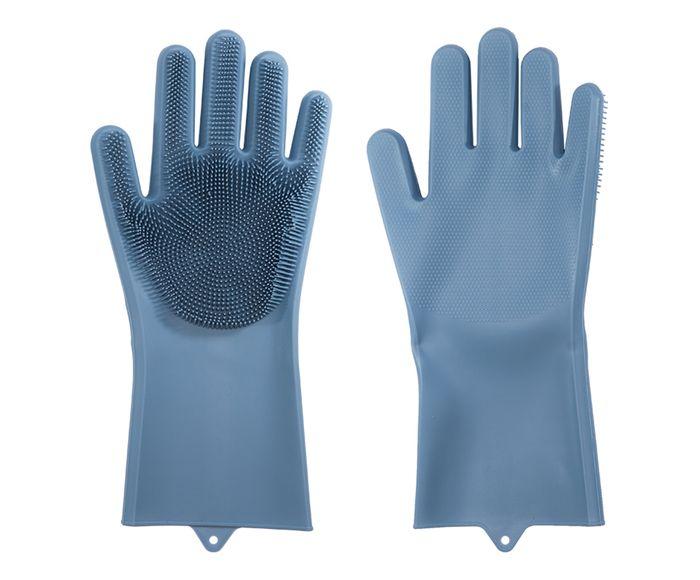 Par de Luvas para Limpeza Civique Azul - 15X34cm   Westwing.com.br