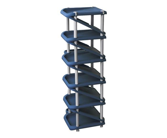 Sapateira Oikos Azul Marinho - 31X100cm | Westwing.com.br