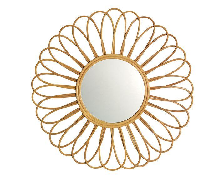 Espelho Sara Palha - 60X60cm   Westwing.com.br