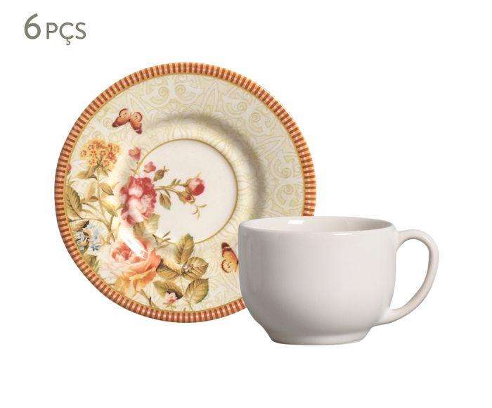 Jogo de Xícaras para Chá com Pires Mirabell - 161ml | Westwing.com.br