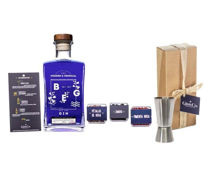 Jogo para Preparo em Inox de Gin Beg Modern&Tropical | Westwing.com.br