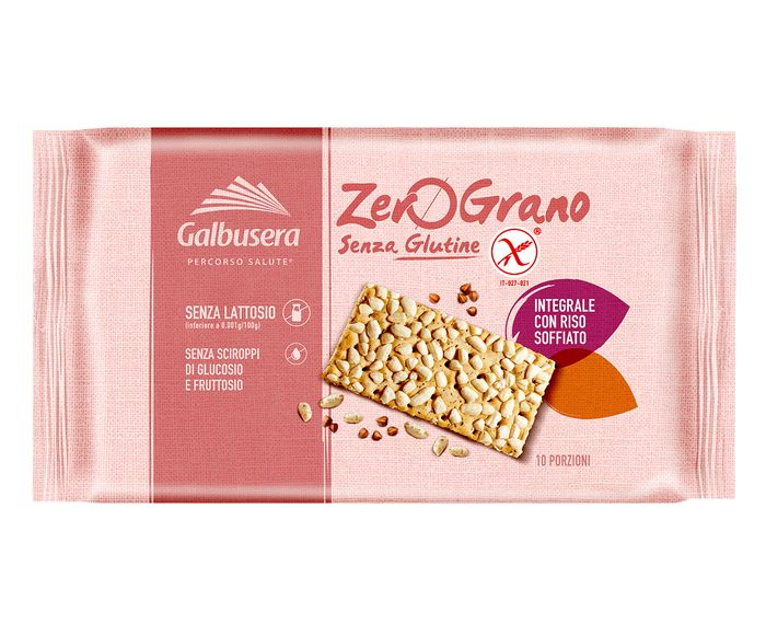 Biscoito Integral de Arroz Tufado Zero Grano - 360G | Westwing.com.br