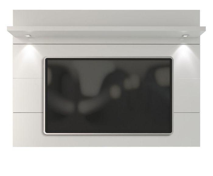 Painel Horizon Branco Gloss - 181X133X22,5cm | Westwing.com.br