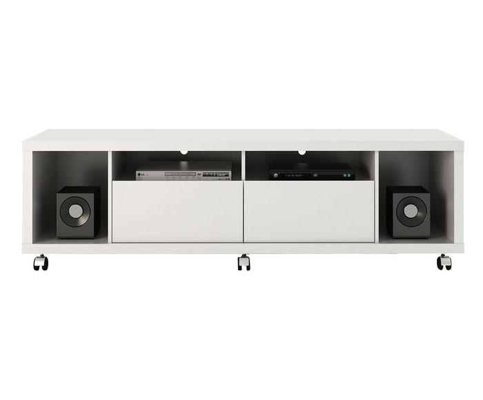 Rack Horizon Branco Gloss - 180,5X53X44,5cm | Westwing.com.br
