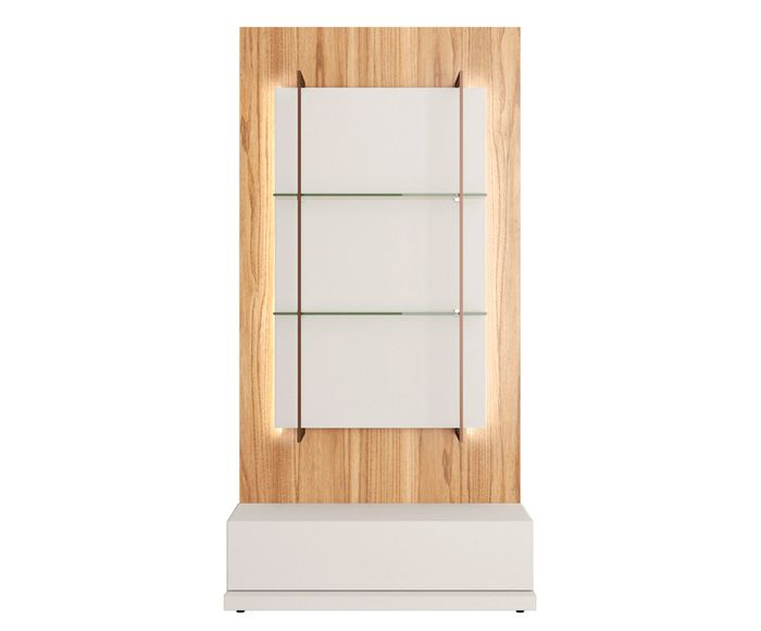 Estante Tivoli Off White - 90X178,2X45,8cm | Westwing.com.br