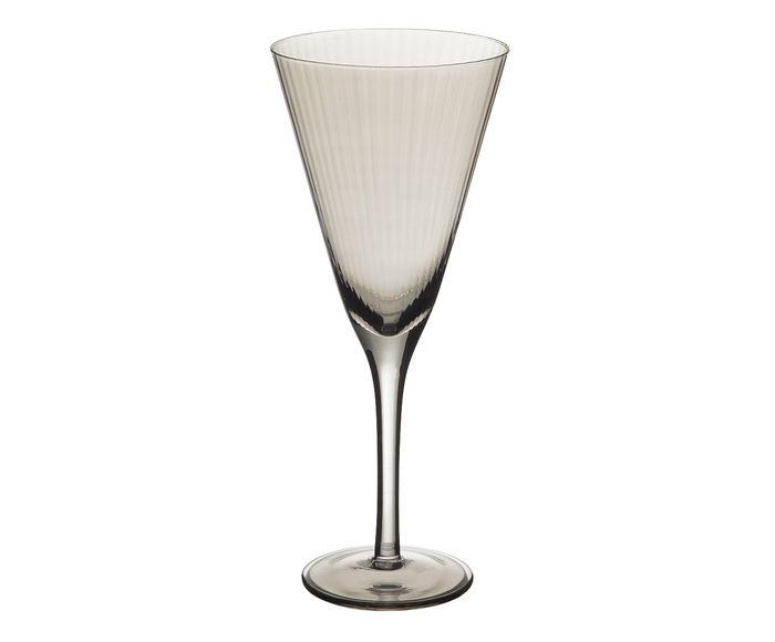 Taça para Água em Cristal Lunar Luster Fumê - 340ml | Westwing.com.br