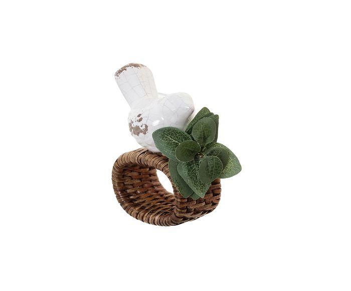 Anel para Guardanapo em Seda Pomba Branca - 3,5cm   Westwing.com.br