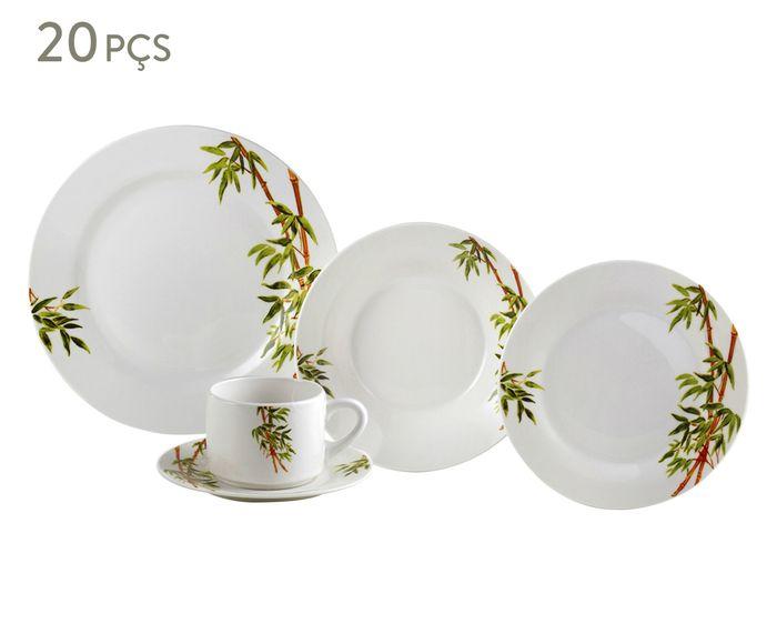 Jogo de Jantar em Porcelana Tropicalis - 04 Pessoas | Westwing.com.br