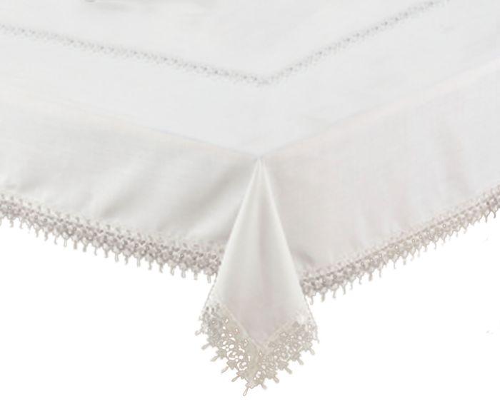 Toalha de Mesa Yumi Branca - 180X270cm   Westwing.com.br