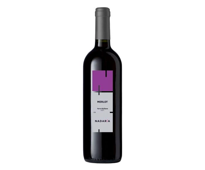 Vinho Tinto Nadaria Merlot Sicilia - 750ml | Westwing.com.br