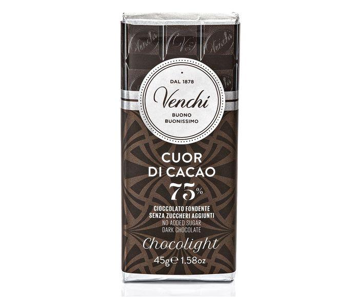 Mini Barra de Chocolate com 75% de Cacau sem Açúcar - 45G | Westwing.com.br