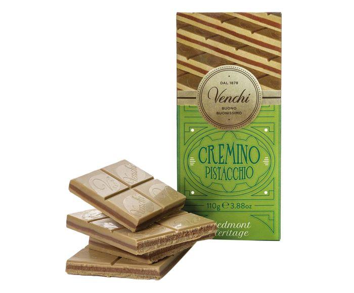 Barra de Chocolate Cremoso com Pistache - 110G   Westwing.com.br
