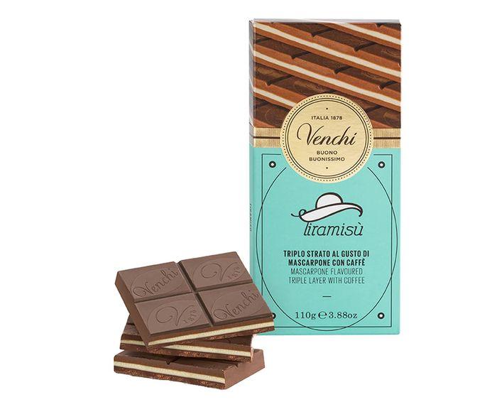 Barra de Chocolate com Creme de Tiramissú - 110G | Westwing.com.br