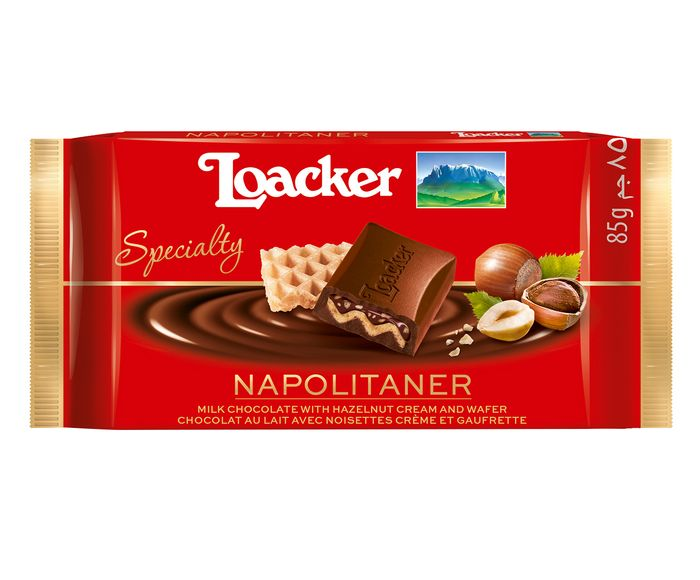 Chocolate Italiano Loacker Napolitaner - 85G | Westwing.com.br