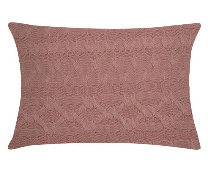 Capa de Travesseiro Hofs Rosa Chá - 50X70cm | Westwing.com.br