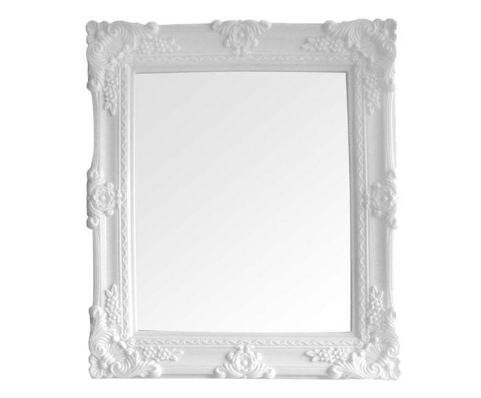Espelho My Castle Branco - 33X37cm | Westwing.com.br