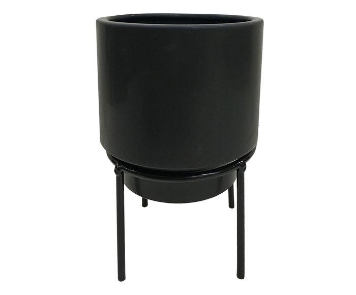 Cachepot Acace Preto - 12cm | Westwing.com.br